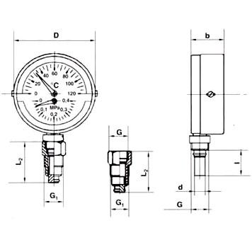Термоманометры в Москве — Сантехкомплект | Продажа сантехники